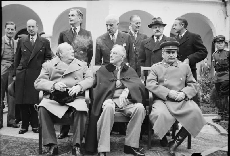 Risultati immagini per conferenza di yalta
