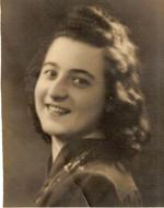 Ada Franchini a diociotto anni, Verona (Simone Valtorta, anni Trenta)